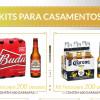 Kits de cervejas para casamento no Empório da Cerveja