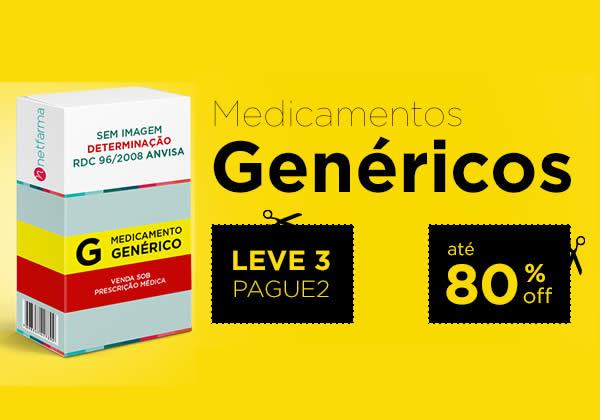 Kits Leve 3 Pague 2 de medicamentos genéricos na NetFarma