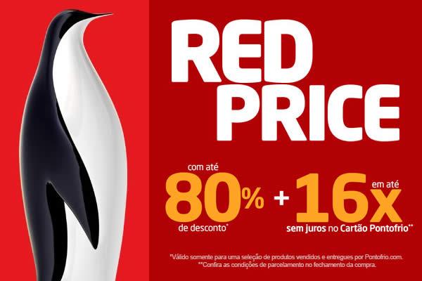RedPrice Pontofrio: Ofertas c/até 80% de desconto