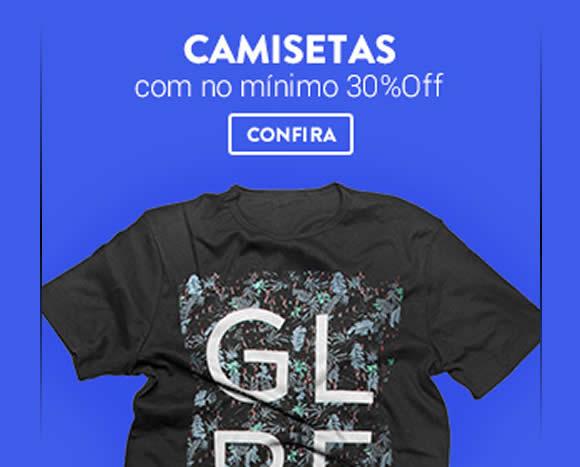 bf01fe9ff2 Camisetas a partir de 30% de desconto na Dafiti Sports