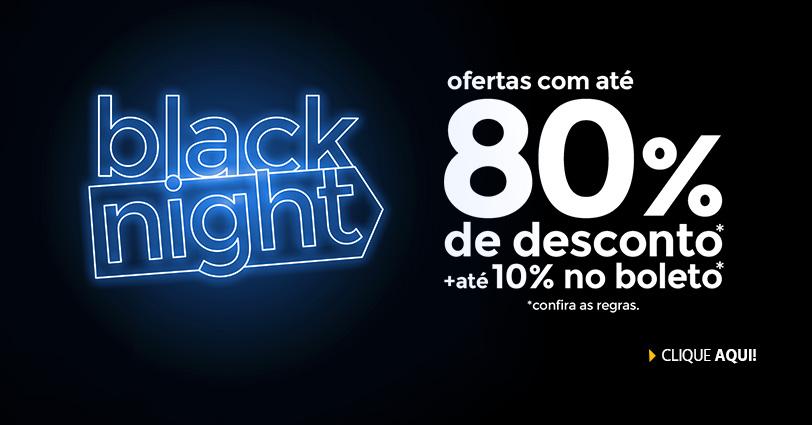 Black Night Submarino - Até 80% Off + até 10% Off à vista