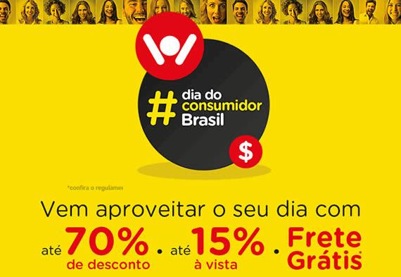 Dia do Consumidor Magazine Luiza - Até 70% off + 15% off à vista