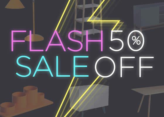Flash Sale c/até 50% de desconto na Oppa