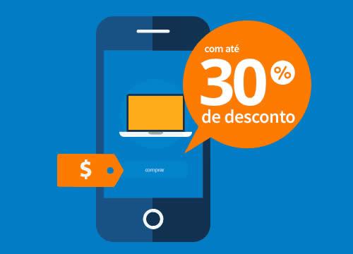 Semana do consumidor: Smartphones c/até 30% de desconto no Walmart
