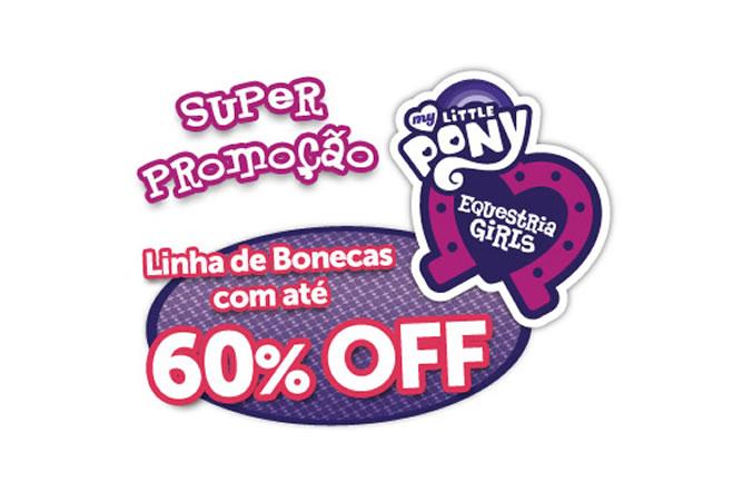 Bonecas My Little Pony c/até 60% de desconto na Ri Happy