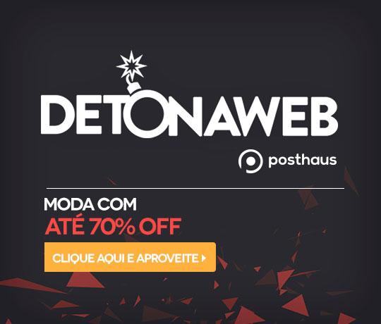 Detonaweb Posthaus: Moda c/até 70% de desconto