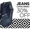 Calças Jeans com 30% de desconto na Zattini