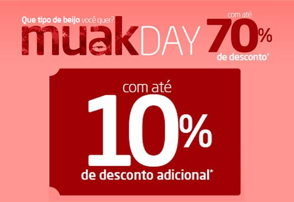 Muak Day: Cupom de até 10% no Pontofrio