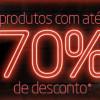 Oferta Direta Pontofrio - Até 70% de desconto