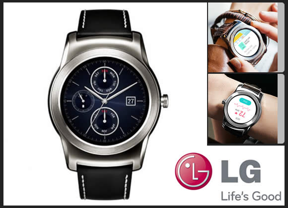 Smartwatch LG Watch Urbane LGW150 com 15% off no boleto na Cissa Magazine