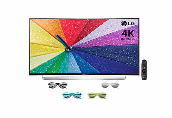 Seleção de Smart TVs 4k LG no Submarino