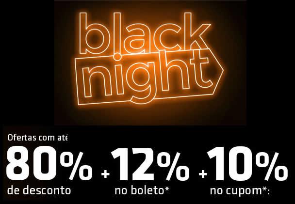 Black Night Shoptime com até 80% de desconto