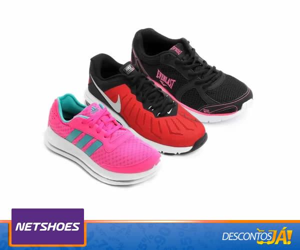 Calçados para treino c/até 60% de desconto na Netshoes