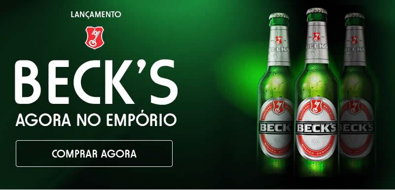 Ofertas de cervejas Beck's no Empório da Cerveja