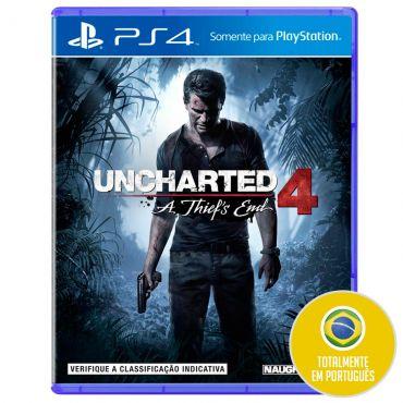 Uncharted 4: A Thief's End para PS4 com 5% de desconto no Ricardo Eletro