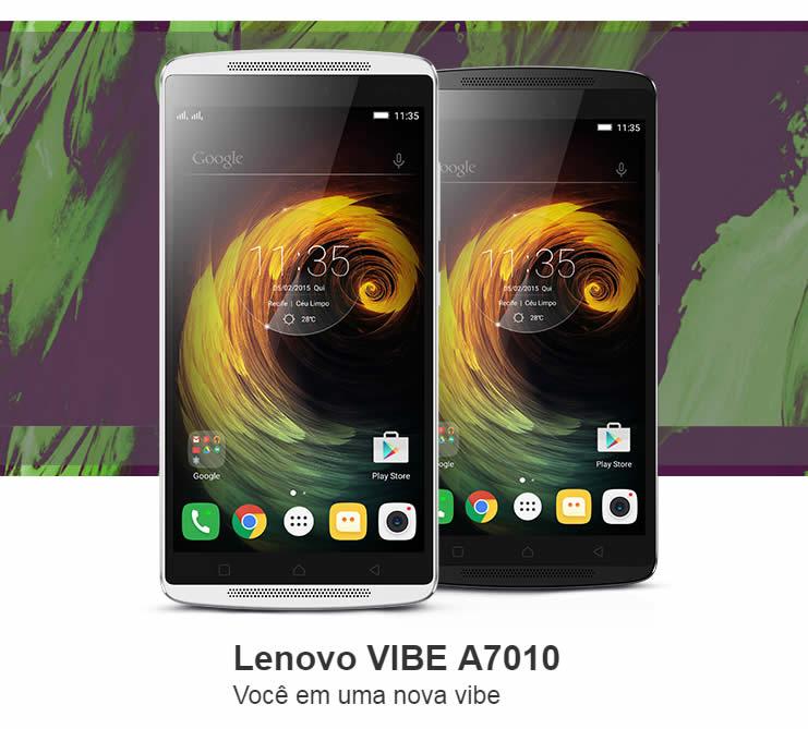 Oferta de Smartphone Lenovo Vibe A7010 na Americanas