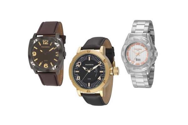Relógios Mondaine c/até 70% de desconto no Clube do Ricardo