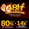 48H Inacreditáveis Pontofrio: Até 80% Off + Cupom de até 20%