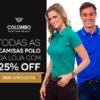 Camisas Polo com 25% de desconto na Posthaus