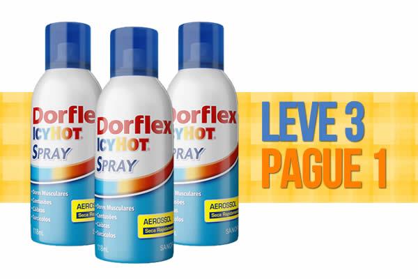 Dorflex Icy Hot - Leve 3 e Pague 1 na Drogaria Onofre