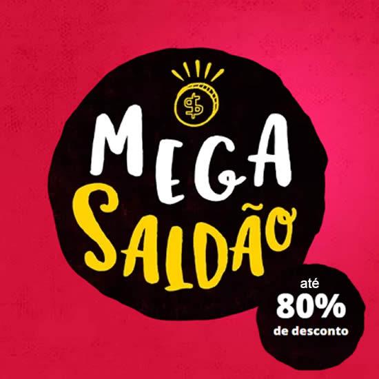 Mega Saldão c/até 80% de desconto na Saraiva