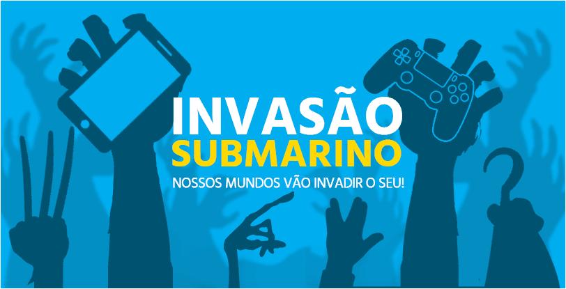 Invasão Submarino - Até 60% Off + até 12% no pagamento à vista