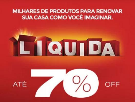 Liquida Etna: Até 70% de desconto