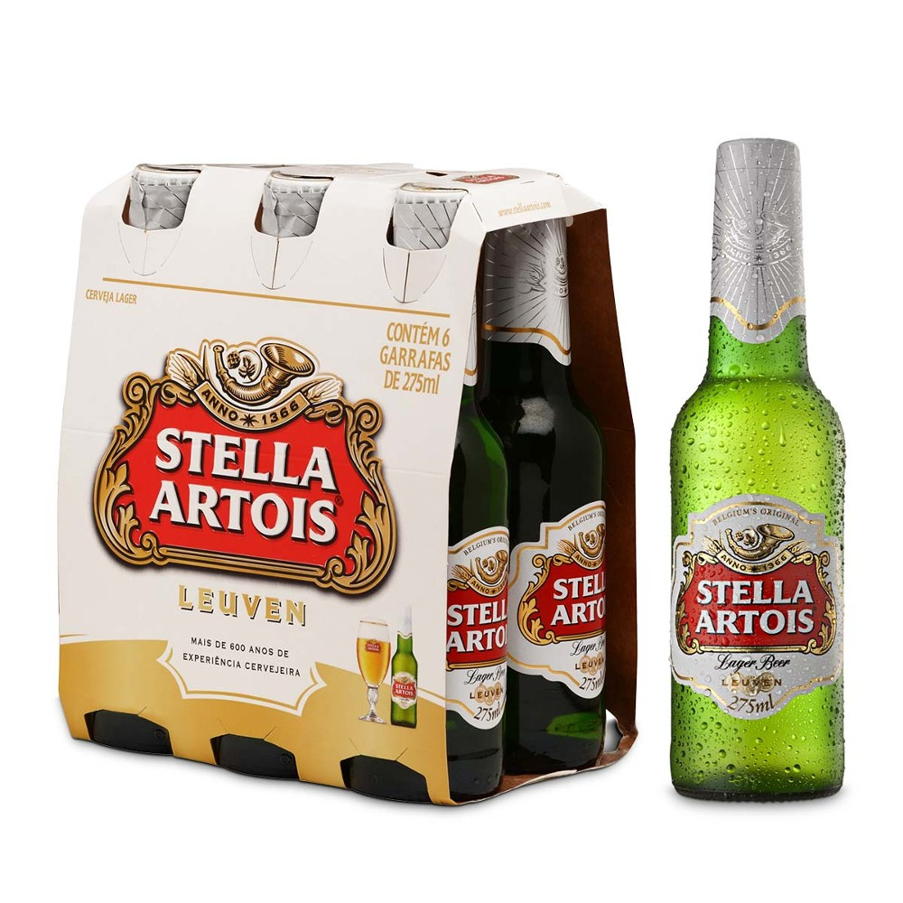Desconto progressivo de até 25% de desconto em Stella Artois 275ml