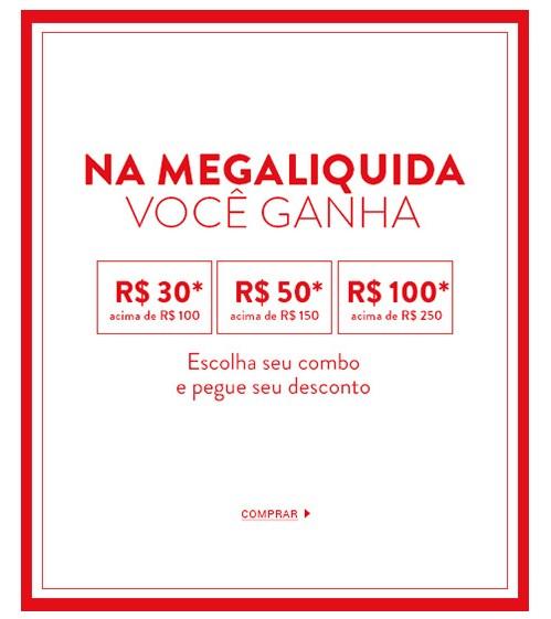 Mega Liquida Dafiti: Cupons de R$30, R$50 e R$100