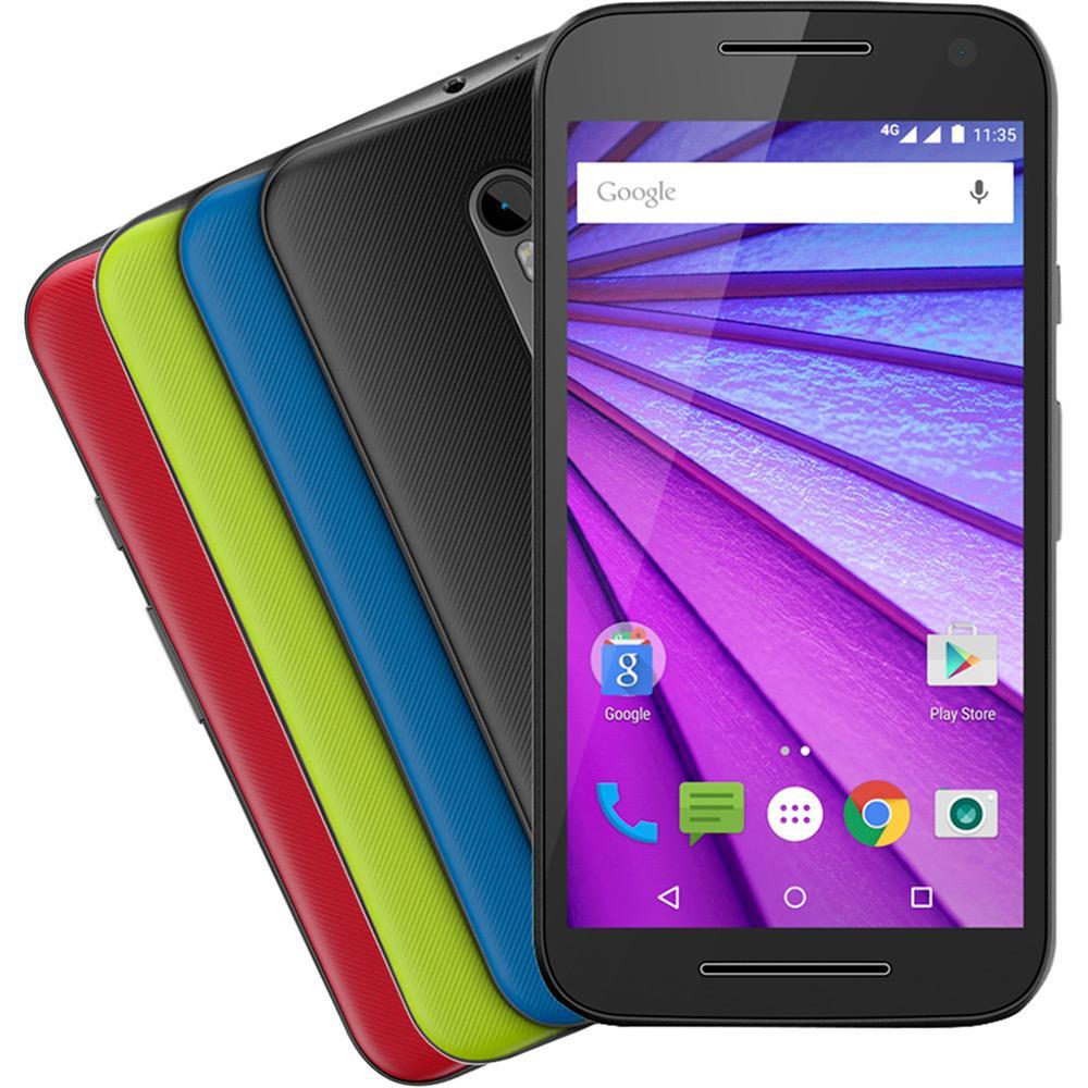 Smartphone Motorola Moto G 3ª Geração com desconto no boleto