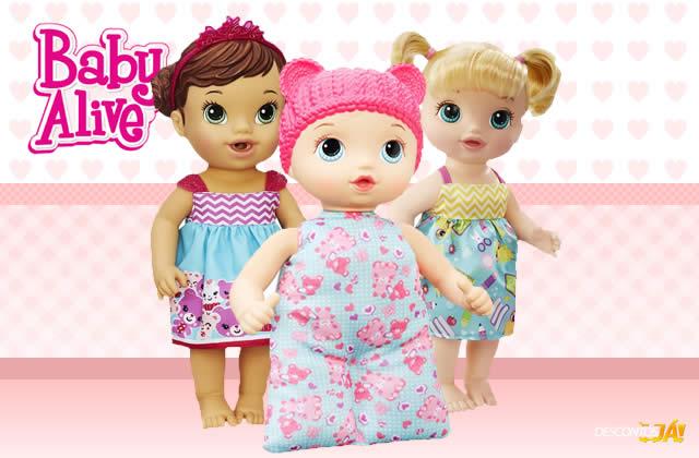 Bonecas Baby Alive com cupom de 5% de desconto na Ri Happy