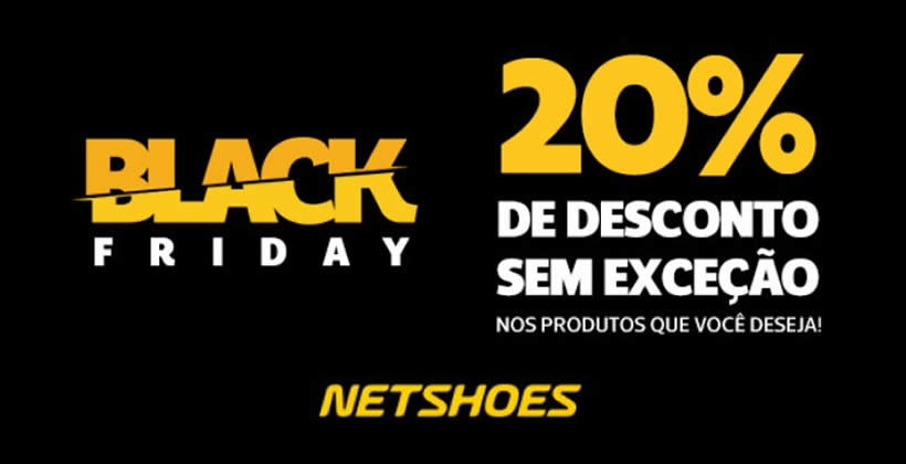 Black Friday Netshoes