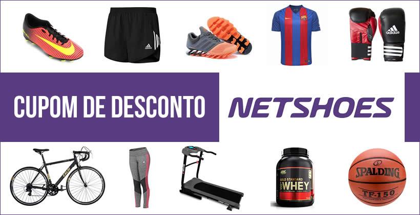 Cupom de Desconto Netshoes - fevereiro 2019  7c8503403a1