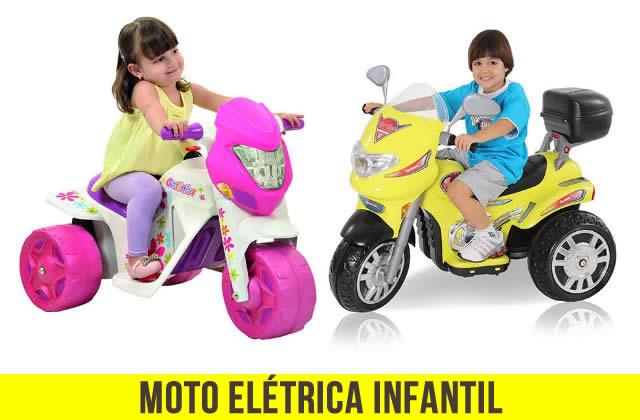 Moto Elétrica Infantil com desconto na Americanas