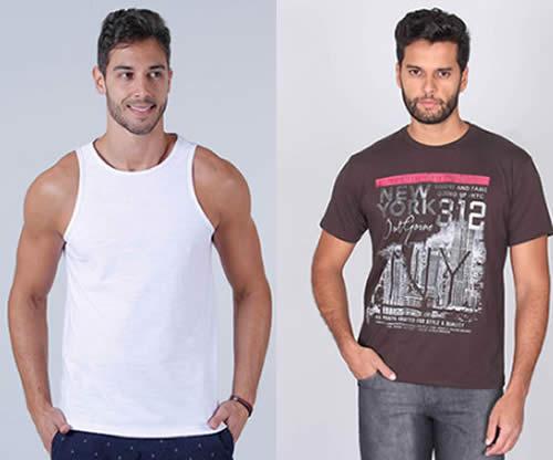 Camisetas masculinas por até R$ 29,99 na Passarela