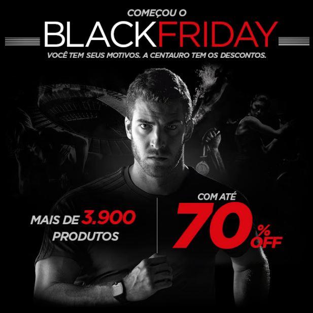 Black Friday Centauro: Até 70% de desconto