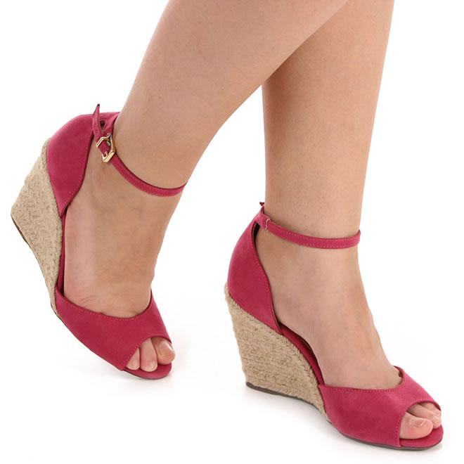 Calçados Anabela c/até 40% de desconto na Passarela