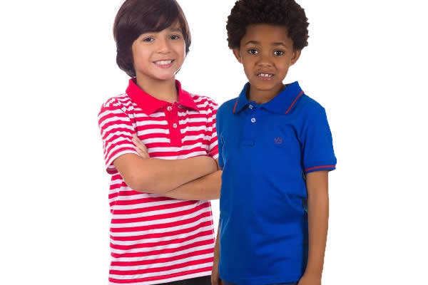 Camisa Polo Infantil em promoção na Camisaria Colombo