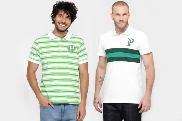 Camisas Polo do Palmeiras em promoção no Mundo Palmeiras
