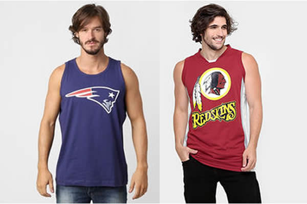 Camisetas de Futebol Americano na Netshoes
