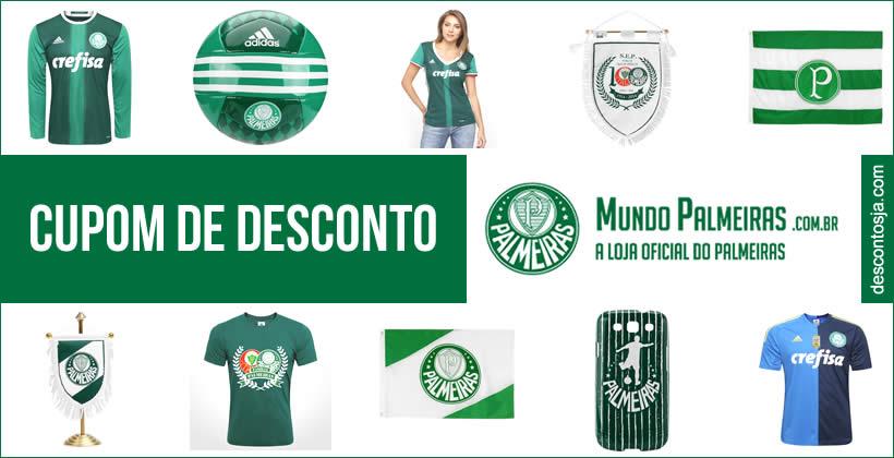 Cupom de desconto Mundo Palmeiras