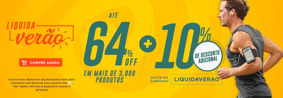 Liquida Verão Centauro: Até 64% Off + Cupom de 10% Off