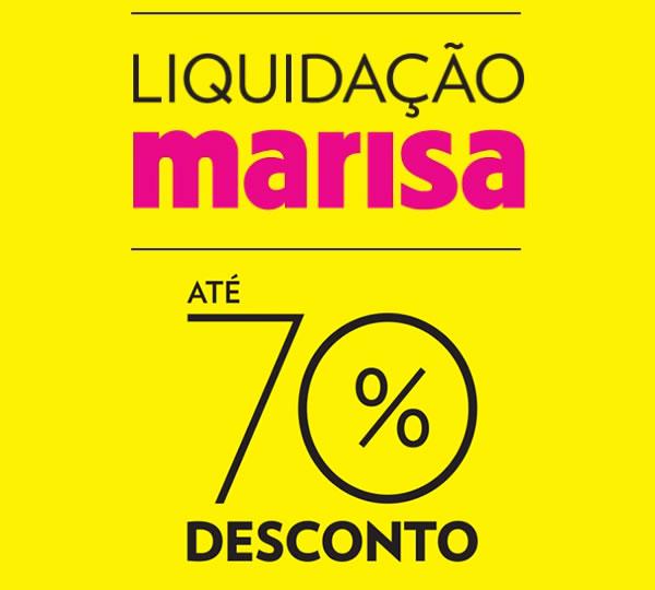 Liquidação Marisa - Ofertas e Promoções