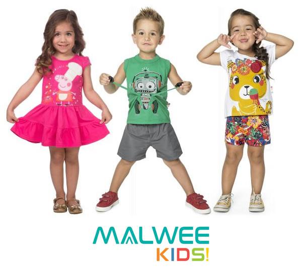 Malwee: Roupas infantis c/até 70% de desconto na Posthaus