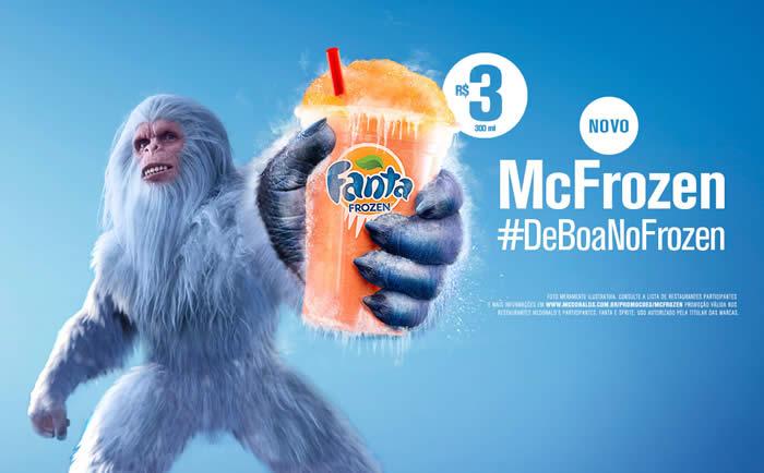 McFrozen: A raspadinha de Fanta ou Sprite do McDonald's