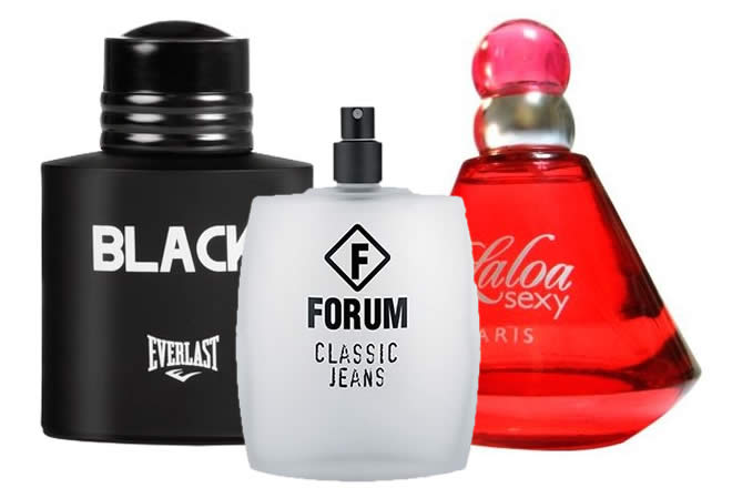 Perfumes baratos na Sépha