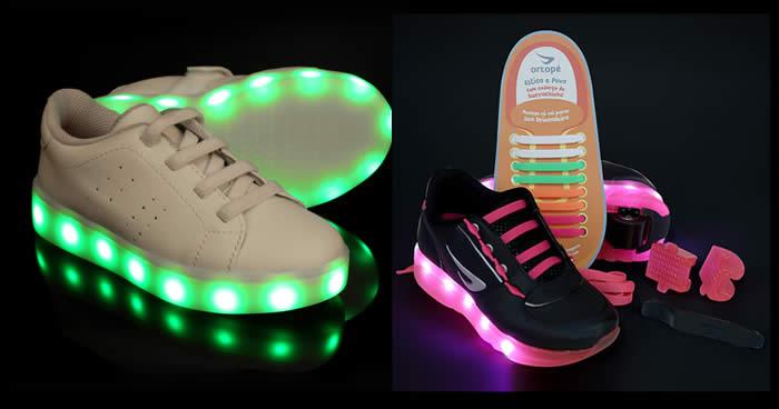 Ofertas de Tênis com Luz de Led na Netshoes
