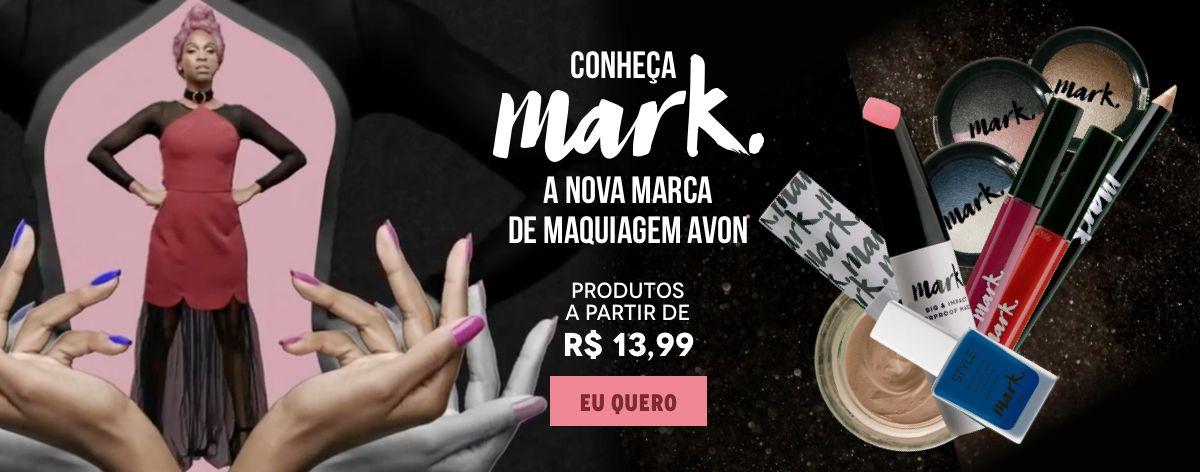 Coleção de Maquiagens Mark. na Avon Store