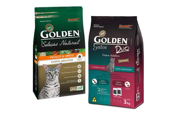 Ração para gatos Golden em oferta na Petz
