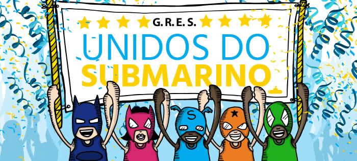Unidos do Submarino - Ofertas para aproveitar neste Carnaval